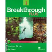 Breakthrough Plus Level 1 Student's Book with acces to Digibook and extra practice ( editura: Macmillan, autor: Miles Craven, ISBN 978-0-230-43813-2 )