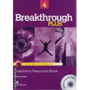 Breakthrough Plus level 4 Teacher ' s Resource book with Test generator CD ( editura: Macmillan, autor: Miles Craven, ISBN 9780230438354 )