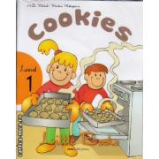 Little Books Pre-Primary readers - Cookies level 1 with CD ( editura : MM Publications , autor : H.Q. Mitchell , Marileni Malkogianni , ISBN 978-960-478-345-8 )