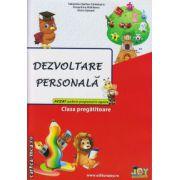 Dezvoltare personala clasa pregatitoare ( editura : Joy , autor : Valentina Stefan - Caradeanu , Florentina Hahaianu , Elena Apopei , ISBN 978-606-8593-14-2 )