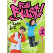 Full Blast 1 - student ' s book ( editura : MM Publications , autor : H.Q. Mitchell , ISBN 9789604438778 )