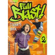 Full Blast 2 - student ' s book ( editura : MM Publications , autor : H.Q. Mitchell , ISBN 978-960-443-885-3 )