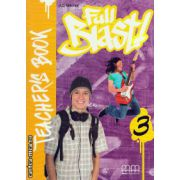 Full Blast 3 - Teacher ' s book ( editura : MM Publications , autor : H.Q. Mitchell , ISBN 978-960-443-896-9 )