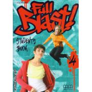 Full Blast 4 - student ' s book ( editura : MM Publications , autor : H.Q. Mitchell , ISBN 978-960-443-901-0 )