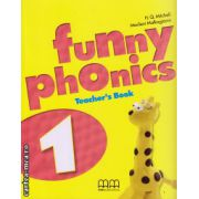 Funny phonics 1 Teacher ' s book ( editura : MM Publications , autor : H.Q. Mitchell , Marileni Malkogianni , ISBN 978-960-478-830-9 )