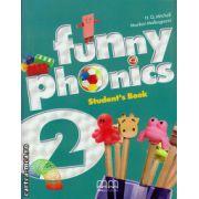 Funny phonics 2 student's book ( editura : MM Publications , autor : H.Q. Mitchell , Marileni Malkogianni , ISBN 978-960-478-737-1 )