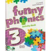 Funny phonics 3 activity book + CD ( editura : MM Publications , autor : H.Q. Mitchell , Marileni Malkogianni , ISBN 9789604788187 )