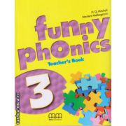 Funny phonics 3 Teacher ' s book ( editura : MM Publications , autor : H.Q. Mitchell , Marileni Malkogianni , ISBN 978-960-478-834-7 )