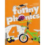 Funny phonics 4 student's book ( editura : MM Publications , autor : H.Q. Mitchell , Marileni Malkogianni , ISBN 978-960-478-739-5 )