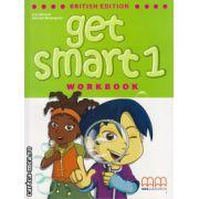 Get smart 1 workbook with CD ( editura : MM Publications , autor : H.Q.Mitchell , Marileni Malkogianni , ISBN 978-960-478-842-2 )