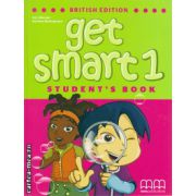 Get smart 1 student's book ( editura : MM Publications , autor : H.Q. Mitchell , Marileni Malkogianni , ISBN 978-960-478-841-5 )