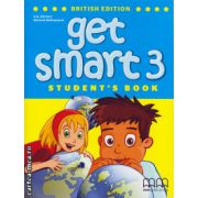 Get smart 3 student's book ( editura : MM Publications , autor : H.Q. Mitchell , Marileni Malkogianni , ISBN 978-960-478-847-7 )