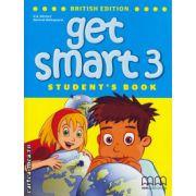 Get smart 3 student's book ( editura: MM Publications, autor: H. Q. Mitchell, Marileni Malkogianni, ISBN 9789604788477 )