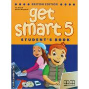 Get smart 5 student's book ( editura : MM Publications , autor : H.Q. Mitchell , Marileni Malkogianni , ISBN 978-960-478-853-8 )
