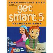 Get smart 5 student's book ( editura: MM Publications, autor: H. Q. Mitchell, Marileni Malkogianni, ISBN 9789604788538 )