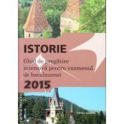 Istorie - ghid de pregatire intensiva pentru examenul de bacalaureat 2015 ( editura : Nomina , autor : Liviu Lazar , ISBN 978-606-535-640-5 )