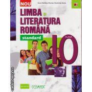 Limba si literatura romana clasa a X - a - standard ( editura : Paralela 45 , autor : Anca Davidoiu-Roman , ISBN 978-973-47-1967-9 )