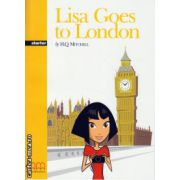 Lisa goes to London - Starter - Pack including :  Reader + Activity book + CD ( editura : MM Publications , autor : H.Q. Mitchell , ISBN 978-960-379-477-6 )