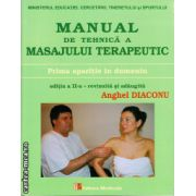 Manual de tehnica a masajului terapeutic ( editura : Medicala , autor : Anghel Diaconu , ISBN 978-973-39-0734-3 )