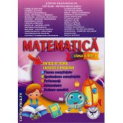 Matematica clasa a VIII - sinteza de teorie, exercitii si probleme ( editura: Icar, autor: Stefan Smarandache, ISBN 978-973-606-518-7 )
