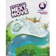 Macmillan Next Move level 4 Teacher ' s book ( editura: Macmillan, autor: Anita Heald, ISBN 978-0-230-46654-8 )