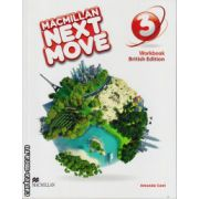 Macmillan Next Move Level 3 Workbook ( editura: Macmillan, autor: Amanda Cant, ISBN 978-0230-46646-3 )