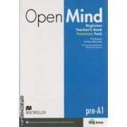 Open Mind Beginner Teacher 's book Premium pack ( editura: Macmillan, autor: Tim Bowen, ISBN 978-0-230-46940-2 )