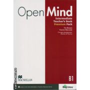 Open Mind Intermediate Teacher ' s Book Premium Pack ( editura: Macmillan, autor: Tim Bowen, Yvonne Maruniak, ISBN 9780230469495 )
