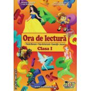 Ora de lectura clasa I ( editura : Joy , autor : Roxana Toader , Monica Grozavu , Livia Zegheru , Floarea Georgescu , ISBN 978-606-93282-0-0 )