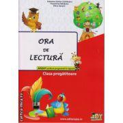 Ora de lectura clasa pregatitoare ( editura : Joy , autor : Valentina Stefan-Caradeanu , Florentina Hahaianu , Elena Apopei , ISBN 978-606-8593-11-1 )