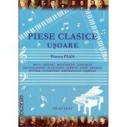Piese clasice usoara pentru pian ( editura: Grafoart, ISBN 9789739054805 )