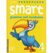 Smart 4 - grammar and vocabulary student's book ( editura : MM Publications , autor : H.Q. Mitchell , ISBN 978-960-443-250-9 )