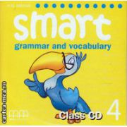 Smart 4 - Grammar and vocabulary Class CD ( editura : MM Publications , autor : H.Q. Mitchell , ISBN 978-960-443-255-4 )