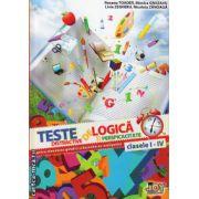 Teste distractive de logica si perspicacitate ( editura : Joy , autor : Roxana Toader , Monica Grozavu , Livia Zegheru , Nicoleta Zanoaga , ISBN 978-606-93353-0-7 )