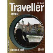 Traveller Level B2 Student ' s book ( editura : MM Publications , autor : H.Q. Mitchell , ISBN 978-960-443-614-9 )