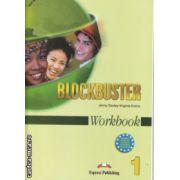 Blockbuster 1 Workbook ( Editura : Express Publishing , Autor : Jenny Dooley , Virginia Evans ISBN 1-84466-718-9 )