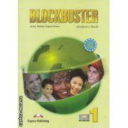 Blockbuster 1 Student's Book ( Editura : Express Publishing , Autor : Jenny Dooley , Virginia Evans ISBN 978-1-84466-713-0 )