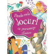 Primele mele jocuri cu personaje clasice  ( Editura : Flamingo ,ISBN 978-606-713-018-8 )