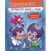 Experimente pentru copii Distractiv rapid si usor (albastra ) ( Editura : Nomina , Autor : Alexandre Wajnberg ISBN 978-606-535-612-2 )