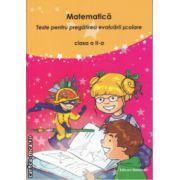 Matematica Teste pentru pregatirea evaluarii scolare clasa a 2 a ( Editura : Nomina , Autor : Viorel George Dumitru , Nicolae Grigore ISBN 978-606-535-680-1 )