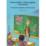 Limba romana Limba engleza Comunicare Teste pentru pregatirea evaluarii scolare clasa a 6 a ( Editura : Nomina , Autor : Elena-Claudia Anca , marius Aristotel Chirica  ISBN 9786065356771 )