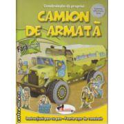 Construieste-ti propriul camion de armata ( Editura : Aramis , ISBN 978-606-706-037-9 )