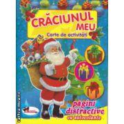 Craciunul meu carte de activitati pagini distractive cu autocolante ( Editura : Aramis , ISBN 978-606-706-052-2 )
