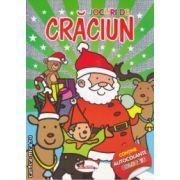 Jocuri de Craciun cu autocolante colorate ( Editura : Aramis  ISBN 978-606-706-046-1 )