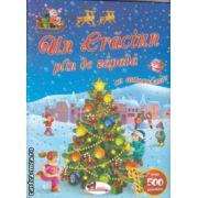Un Craciun plin de zapada cu autocolante ( Editura : Aramis , ISBN 978-606-706-053-9 )