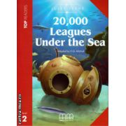 Top Readers - 20 000 Leagues Under the Sea - Level 2 reader Pack: including glossary + CD ( editura: MM Publications, autor: Jules Verne, ISBN 978-960-443-427-5 )