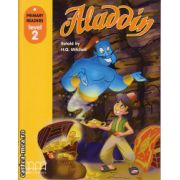 Primary Readers - Aladdin - Level 2 reader ( editura: MM Publications, retold by: H. Q. Mitchell, ISBN 978-960-443-007-9 )