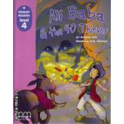 Primary Readers - Ali Baba and the 40 Thieves - Level 4 reader ( editura: MM Publications, ISBN 978-960-443-292-9 )