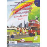 Comunicare in limba engleza Manual pentru clasa I partea I si partea II cu CD multimedia (Editura : Aramis , Autor : Cristina Johnson ISBN 978-606-706-084-3 )