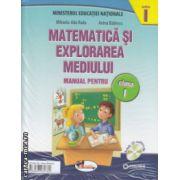Matematica si explorarea mediului manual pentru clasa I partea I si partea II cu CD multimedia ( Editura : Aramis , Autor : Mihaela -Ada Radu , Anina Badescu ISBN 978-606-706-078-2 )